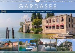 Gardasee, das Paradies im Norden Italiens (Wandkalender 2019 DIN A4 quer) von Kruse,  Joana