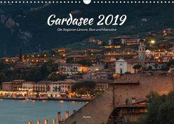 Gardasee – Die Regionen Limone, Riva und Malcesine (Wandkalender 2019 DIN A3 quer) von ManGro,  k.A.