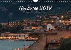 Gardasee – Die Regionen Limone, Riva und Malcesine (Wandkalender 2019 DIN A4 quer) von ManGro,  k.A.