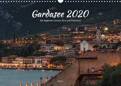 Gardasee – Die Regionen Limone, Riva und Malcesine (Wandkalender 2020 DIN A3 quer) von ManGro