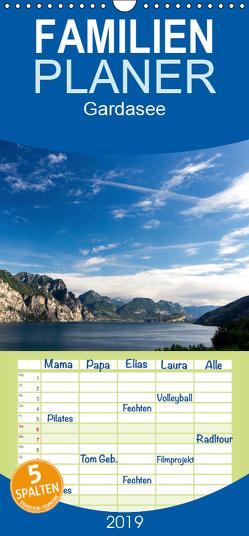 Gardasee – Familienplaner hoch (Wandkalender 2019 , 21 cm x 45 cm, hoch) von Kuehn,  Thomas