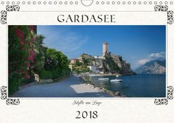 Gardasee – Idylle am Lago 2018 (Wandkalender 2018 DIN A4 quer) von SusaZoom