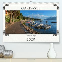 Gardasee – Idylle am Lago 2020 (Premium, hochwertiger DIN A2 Wandkalender 2020, Kunstdruck in Hochglanz) von SusaZoom