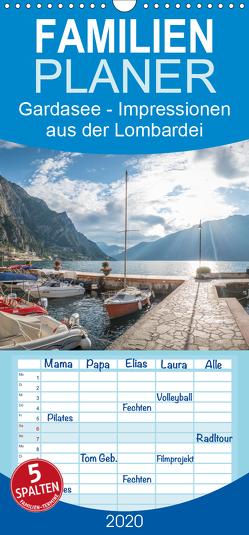Gardasee – Impressionen aus der Lombardei – Familienplaner hoch (Wandkalender 2020 , 21 cm x 45 cm, hoch) von Mosert,  Stefan