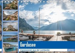 Gardasee – Impressionen aus der Lombardei (Tischkalender 2019 DIN A5 quer) von Mosert,  Stefan