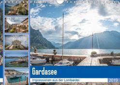 Gardasee – Impressionen aus der Lombardei (Wandkalender 2019 DIN A4 quer) von Mosert,  Stefan