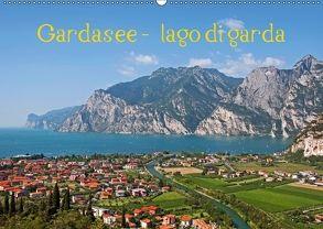 Gardasee – lago di Garda by Sascha Ferrari (Wandkalender 2018 DIN A2 quer) von Ferrari,  Sascha
