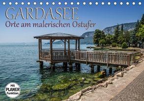 GARDASEE Orte am malerischen Ostufer (Tischkalender 2018 DIN A5 quer) von Viola,  Melanie