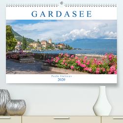 Gardasee – Perle Italiens 2020 (Premium, hochwertiger DIN A2 Wandkalender 2020, Kunstdruck in Hochglanz) von SusaZoom