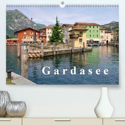 Gardasee (Premium, hochwertiger DIN A2 Wandkalender 2021, Kunstdruck in Hochglanz) von LianeM