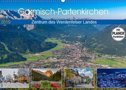 Garmisch-Partenkirchen – Zentrum des Werdenfelser Landes (Wandkalender 2019 DIN A2 quer) von Wilczek,  Dieter-M.