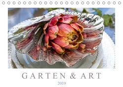 Garten & Art (Tischkalender 2019 DIN A5 quer) von Meyer,  Dieter