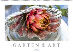 Garten & Art (Wandkalender 2019 DIN A2 quer) von Meyer,  Dieter