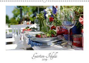 Garten-Idylle 2019 (Wandkalender 2019 DIN A3 quer) von Trapp,  Tobias