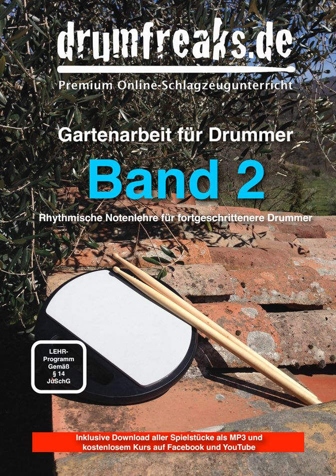 gartenarbeit f r drummer band 2 von christoph michael rhythmische. Black Bedroom Furniture Sets. Home Design Ideas