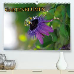 Gartenblumen (Premium, hochwertiger DIN A2 Wandkalender 2021, Kunstdruck in Hochglanz) von Geduldig,  Bildagentur