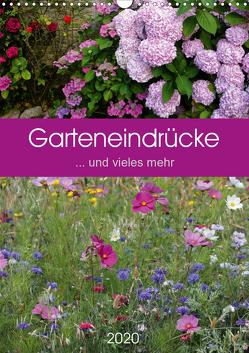 Garteneindrücke (Wandkalender 2020 DIN A3 hoch) von Falke,  Manuela