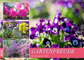 Gartenfreude für das ganze Jahr! (Wandkalender 2020 DIN A3 quer) von Hurley,  Rose