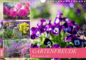 Gartenfreude für das ganze Jahr! (Wandkalender 2020 DIN A4 quer) von Hurley,  Rose