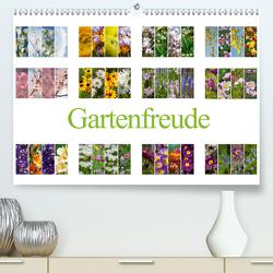 Gartenfreude (Premium, hochwertiger DIN A2 Wandkalender 2021, Kunstdruck in Hochglanz) von Gierok,  Steffen