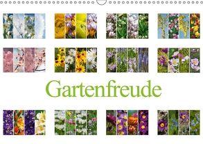 Gartenfreude (Wandkalender 2018 DIN A3 quer) von Gierok,  Steffen