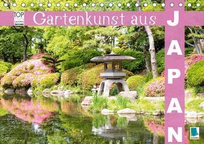 Gartenkunst aus Japan (Tischkalender 2018 DIN A5 quer) von CALVENDO,  k.A.