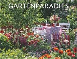 Gartenparadies Kalender 2022 von Heye