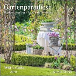 Gartenparadiese 2020 – Broschürenkalender – Wandkalender – mit herausnehmbarem Poster – Format 30 x 30 cm von DUMONT Kalenderverlag, Pietrek,  Sibylle