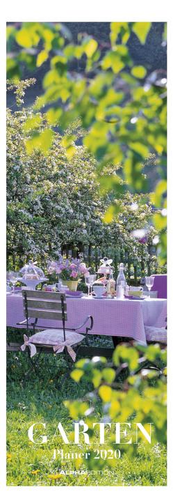 Gartenplaner 2020 – Streifenkalender (15 x 42) – Streifenplaner – Wandplaner – Gartenkalender – Natur – Küchenkalender von ALPHA EDITION