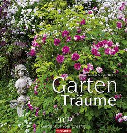 Gartenträume – Kalender 2019 von Bieker,  Josef, Romeis,  Ulrike, Weingarten
