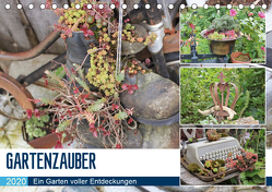 Gartenzauber (Tischkalender 2020 DIN A5 quer) von N.,  N.