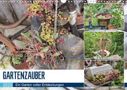 Gartenzauber (Wandkalender 2020 DIN A3 quer) von N.,  N.