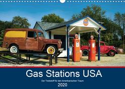 Gas Stations USA – Der Treibstoff für den Amerikanischen Traum (Wandkalender 2020 DIN A3 quer) von Robert,  Boris