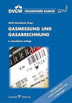 Gasmessung und Gasabrechnung von Wernekinck,  Ulrich