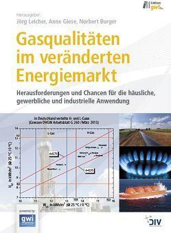 Gasqualitäten im veränderten Energiemarkt von Burger,  Norbert, Giese,  Anne, Leicher,  Jörg