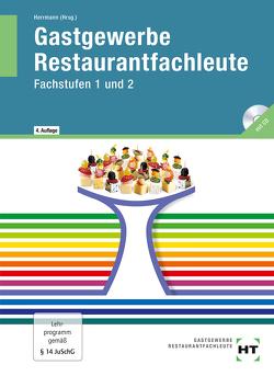 Gastgewerbe Restaurantfachleute von Friebel,  Ingrid, Herrmann,  F. Jürgen, Klein,  Helmut