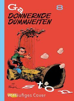 Gaston Neuedition 8: Donnernde Dummheiten von Franquin,  André, Le Comte,  Marcel