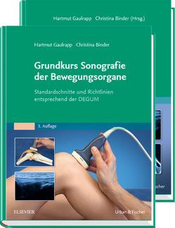 Gaulrapp, Grund- und Aufbaukurs Sonografie von Binder,  Christina, Gaulrapp,  Hartmut