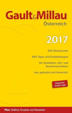 Gault & Millau Österreich 2017 von Hohenlohe,  Martina und Karl