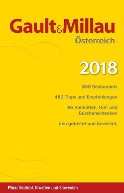 Gault&Millau Österreich 2018 von Hohenlohe,  Martina und Karl