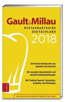 Gault&Millau RestaurantGuide Deutschland 2018 von Bröhm,  Patricia