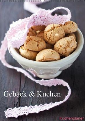 Gebäck und Kuchen Küchenplaner (Wandkalender 2018 DIN A2 hoch) von Gissemann,  Corinna