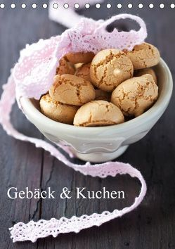 Gebäck und Kuchen (Tischkalender 2019 DIN A5 hoch) von Gissemann,  Corinna