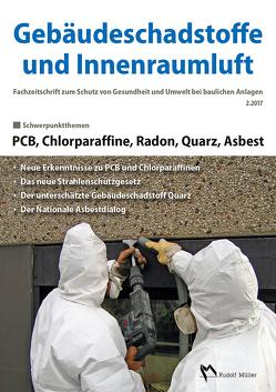 Gebäudeschadstoffe und Innenraumluft: PCB, Chlorparaffine, Radon, Quarz, Asbest von Bossemeyer,  Hans-Dieter, Grün,  Lothar, Zwiener,  Gerd