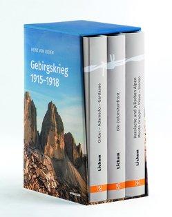 Gebirgskrieg 1915–1918 von von Lichem,  Heinz