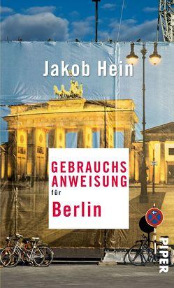 Gebrauchsanweisung für Berlin von Hein,  Jakob