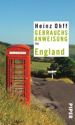 Gebrauchsanweisung für England von Ohff,  Heinz