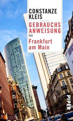 Gebrauchsanweisung für Frankfurt am Main von Kleis,  Constanze