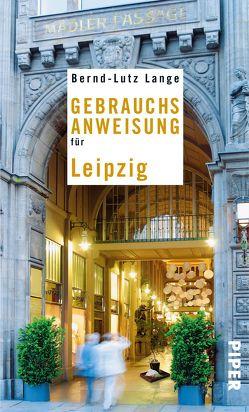 Gebrauchsanweisung für Leipzig von Lange,  Bernd-Lutz