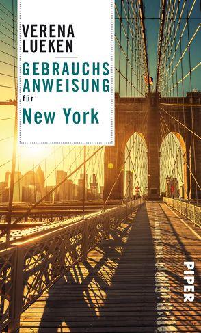 Gebrauchsanweisung für New York von Lueken,  Verena